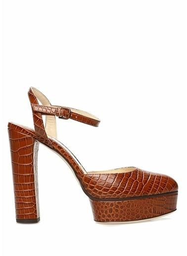 Jimmy Choo Ayakkabı Taba